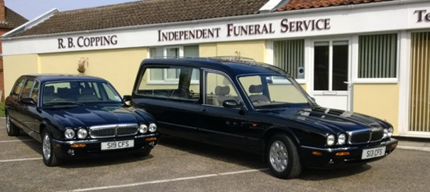 R. B. Copping Independent Family Funeral Service, Poringland, Norfolk, funeral director in Norfolk
