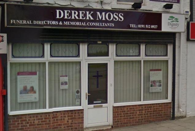 Derek Moss Funeral Directors, Newbottle St
