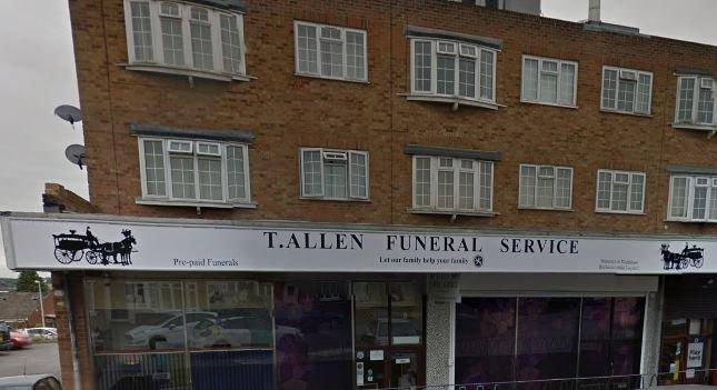 T. Allen Funeral Service, Strood, Kent, funeral director in Kent