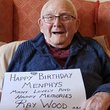 Raymond Wood MBE & Legion d'honneure