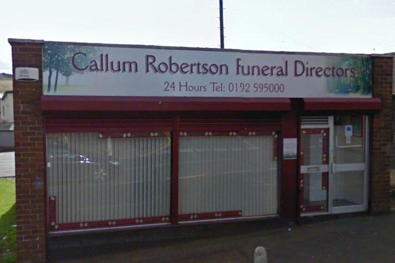 Callum Robertson Funeral Directors, Kirkcaldy
