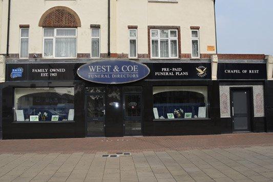West & Coe Funeral Directors, Dagenham Martins Corner