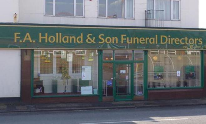 F A Holland Funeralcare, Littlehampton