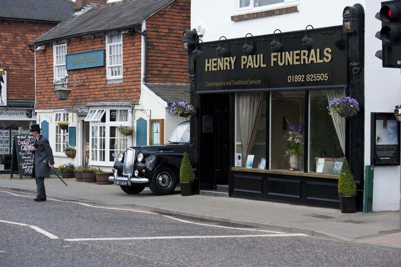 Henry Paul Funerals, Pembury, Kent, funeral director in Kent