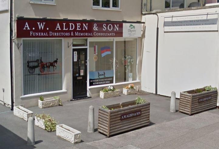 A W Alden & Son Funeral Directors, Benfleet, Essex, funeral director in Essex
