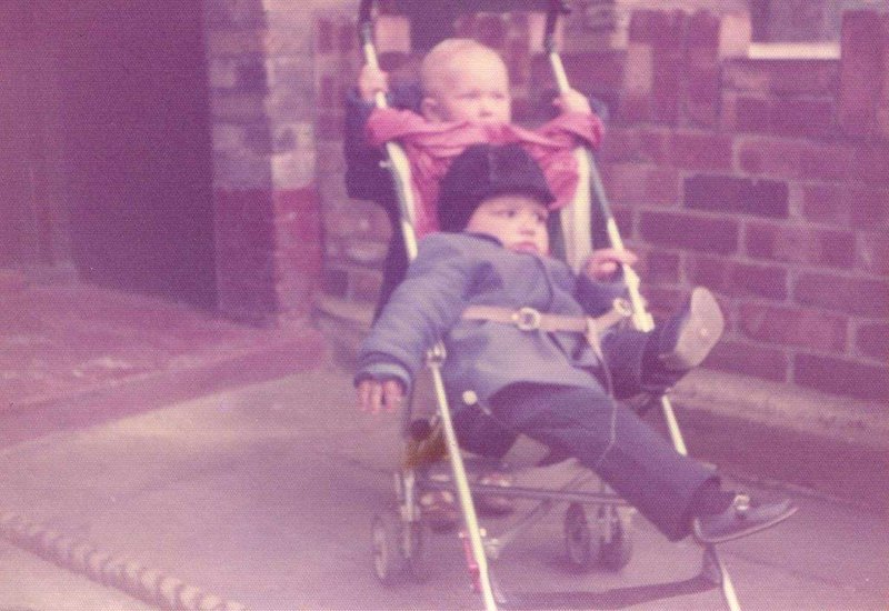 Me and Paul, inseparable when we were little ♥️