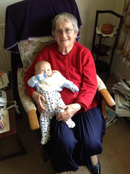 When Grandma first met Max 💕