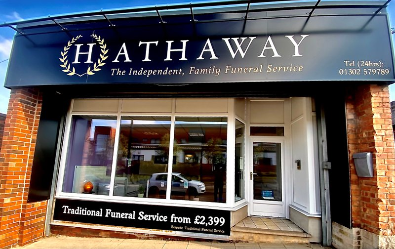 Hathaway Funeral Directors, South Yorkshire, funeral director in South Yorkshire