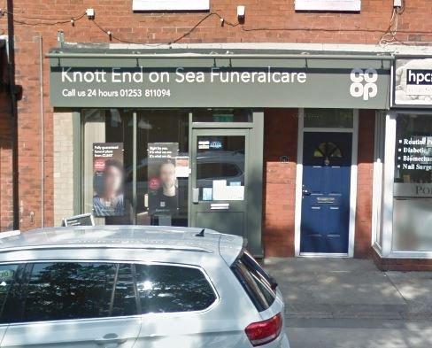 Knott End Funeralcare, Knott End on Sea