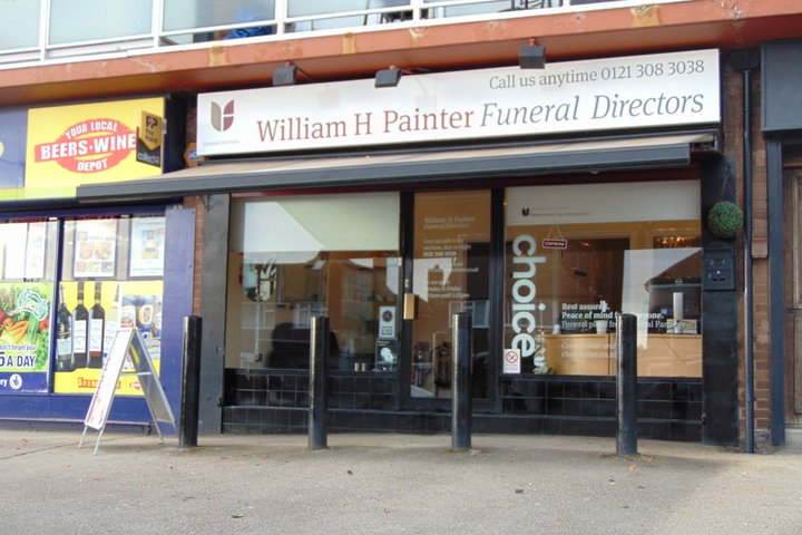 William H Painter Funeral Directors, Sutton Coldfield