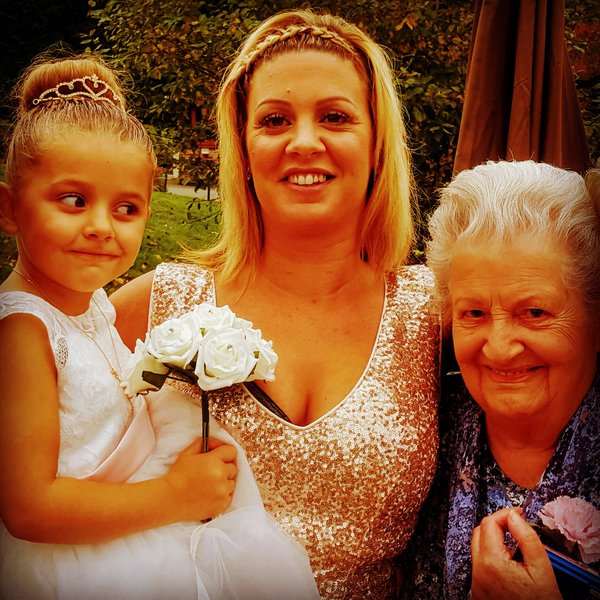 A beautiful lady inside and out, your smile will be etch in my mind forever xxx