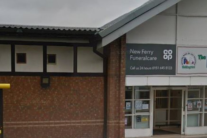 Co-op Funeralcare, New Ferry