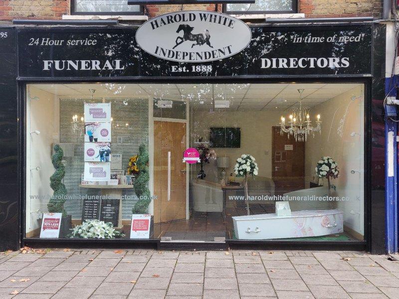 Harold White Funeral Directors, Buckhurst Hill, Essex, funeral director in Essex