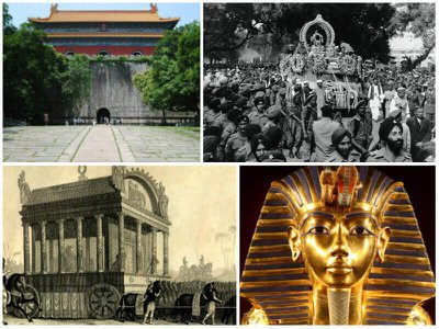 The most amazing funerals and burials in history