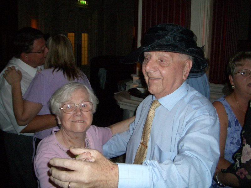 Josie and her brother George (my grandad) at my wedding in August 2004 ❤️