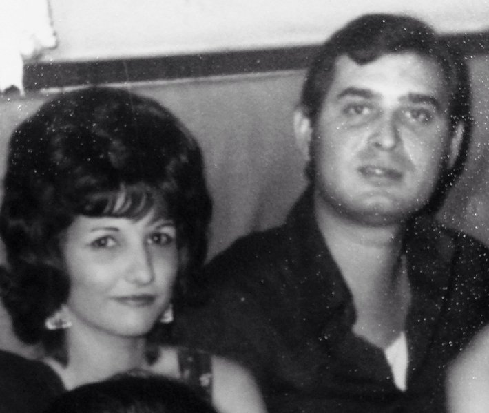 Two cousins who grew up together.  Will be forever missed.  We love you dear cousin. Cecil & Dolores