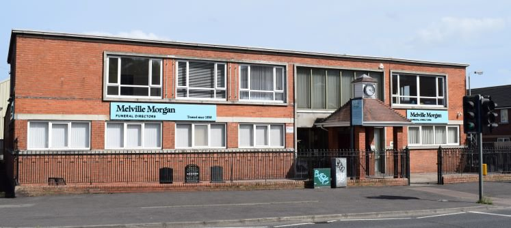 Melville Morgan Funeral Directors, Head Office, County Antrim, funeral director in County Antrim