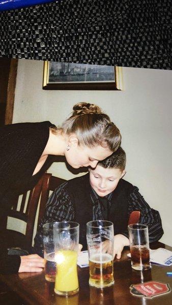 My boy Alf and his auntie Karen 💔💔
