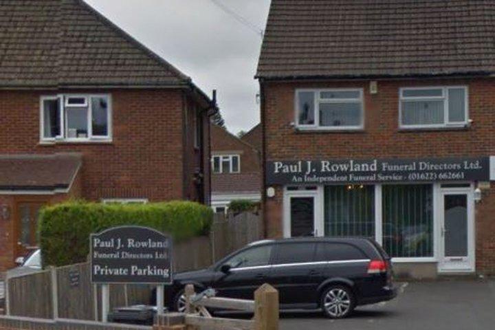 Paul J Rowland, Maidstone