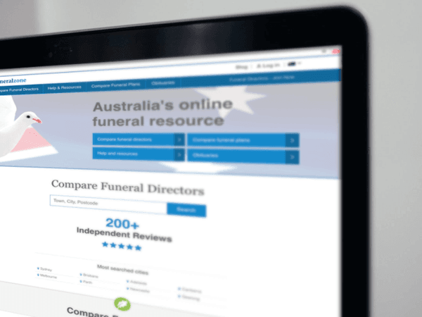 Funeral Zone is Australia's most visited funeral website