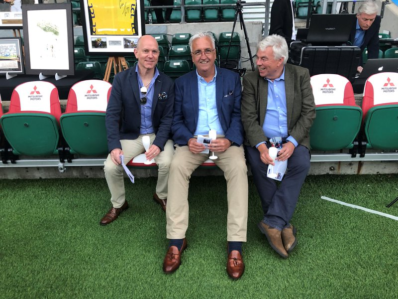 Terry sat on the bench at Twickenham. What a gentleman he was and easily good enough to play a staring role on the pitch!!