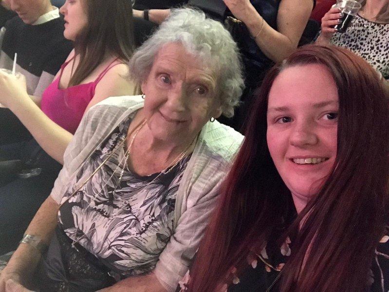 Grandma and grandaughter xxxx