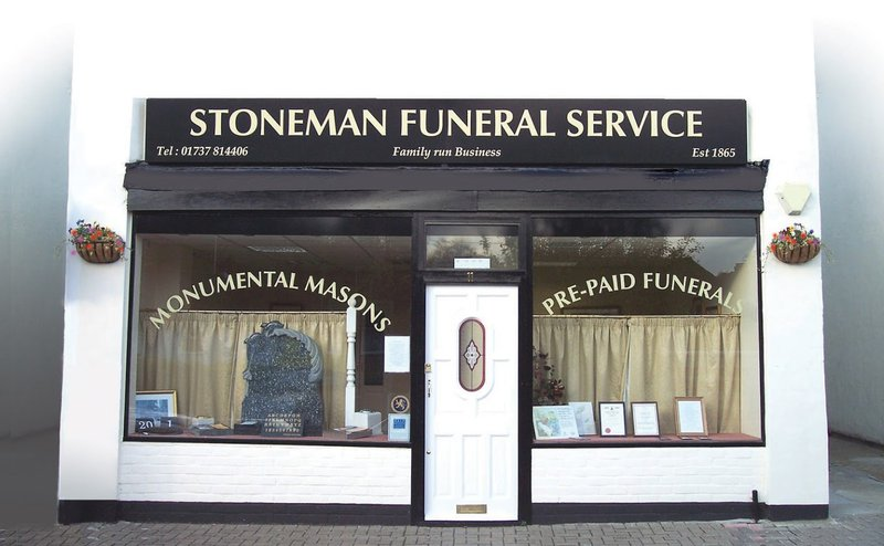 Stoneman Funeral Service Tadworth, Surrey, funeral director in Surrey