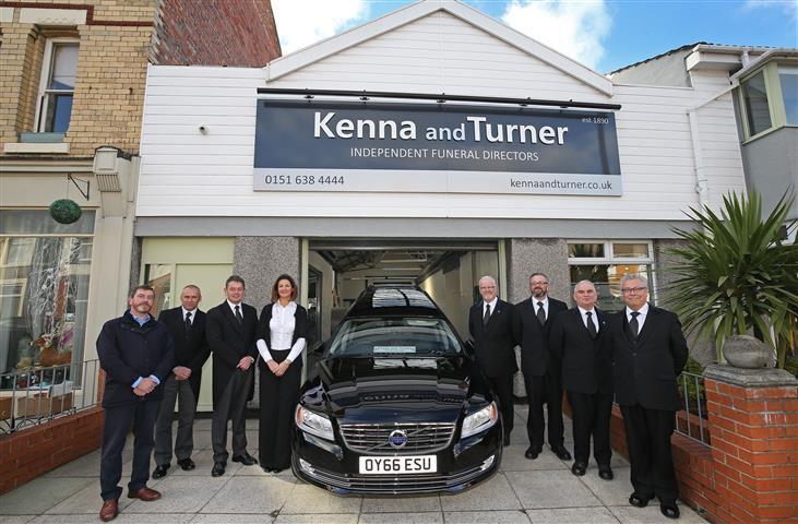 Kenna and Turner, Breezehill, Merseyside, funeral director in Merseyside