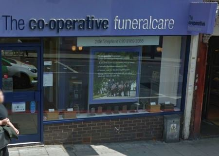 Co-op Funeralcare, Streatham