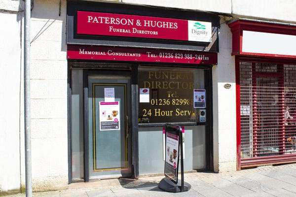 Paterson & Hughes Funeral Directors, Kilsyth