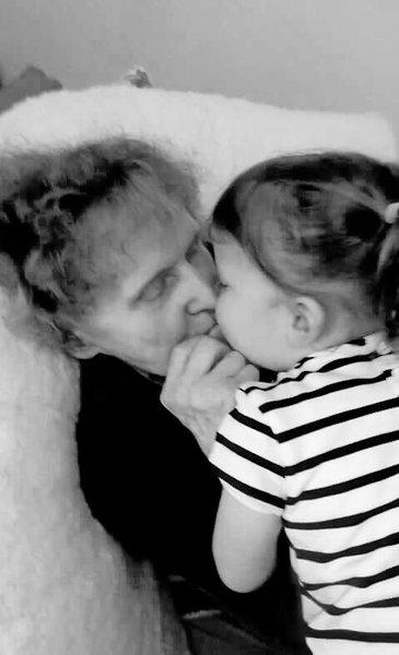 Night night Great Gran, love ❤️ you Ryleigh Jean.xxx