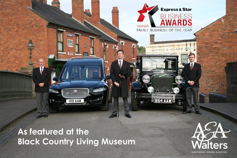 A & A Walters, Sedgley, Dudley, funeral director in Dudley