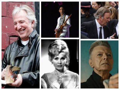 Much loved – but can we really grieve celebrities?