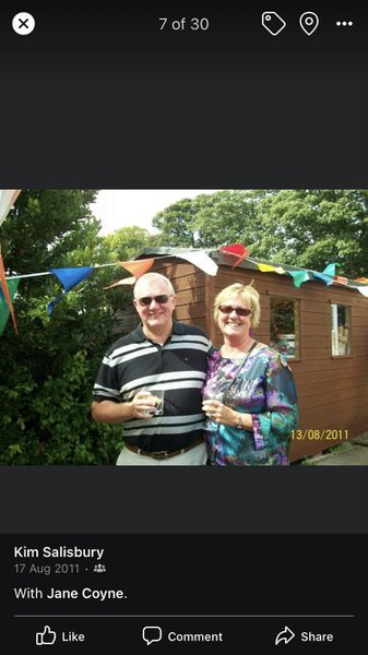 Happy day spent at Marks 50 th.  love you Chris x