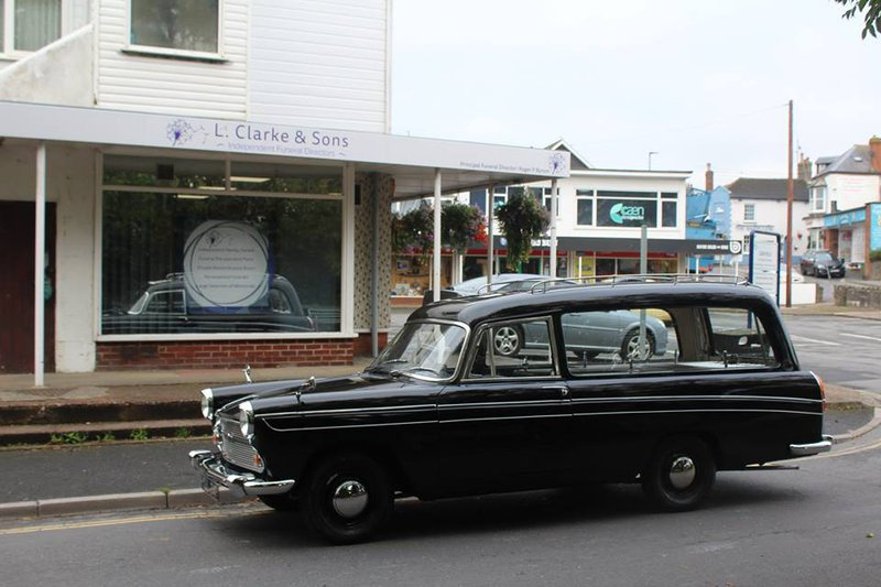 L Clarke & Sons, Devon, funeral director in Devon