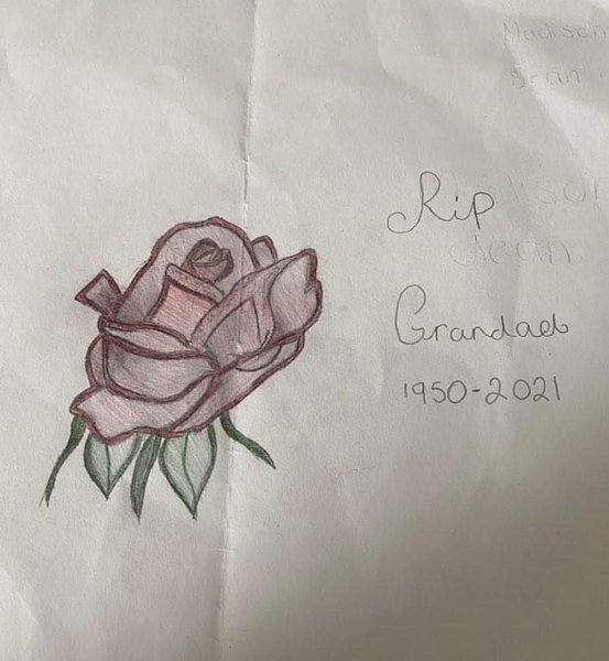 By Madison for grandad