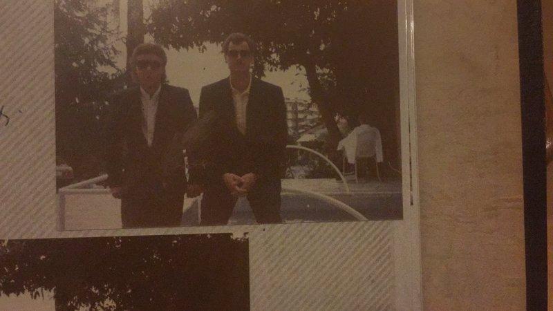 Jim and Sam France June 1986