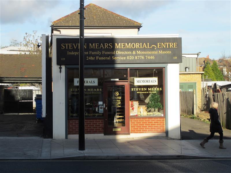 Steven Mears Funeral Directors, Sydenham