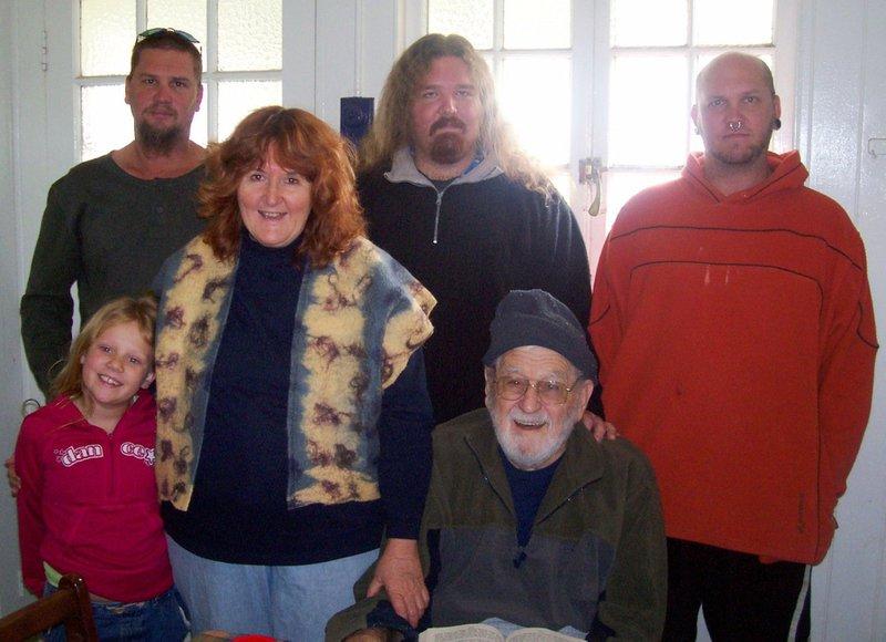 Kris' Family L-R...... Chandlah Nathan Carol Benton Colin and Kris