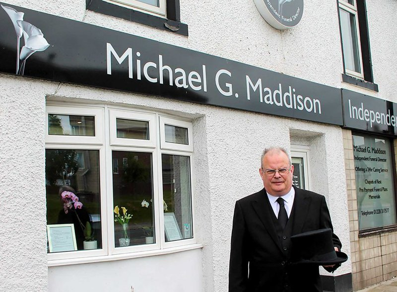 Michael G Maddison Independent Funeral Director, Cumbria, funeral director in Cumbria