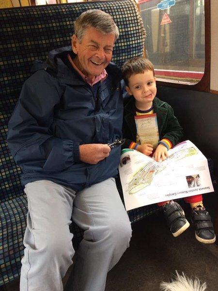 Grandad and Jacob