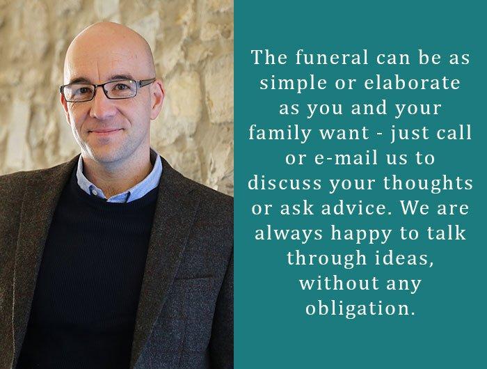 A.E Stoodley & Son Funeral Directors, South Petherton, Somerset, funeral director in Somerset
