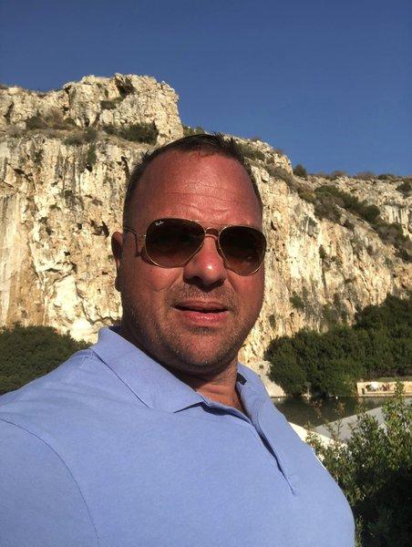 Paul @ Lake Vouliagmeni - Athens