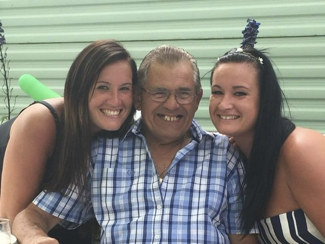 Photo of me my grandad and my sister Katie enjoying caravan life! Miss you Grandad! You will always be in my heart ♥️ xxxx