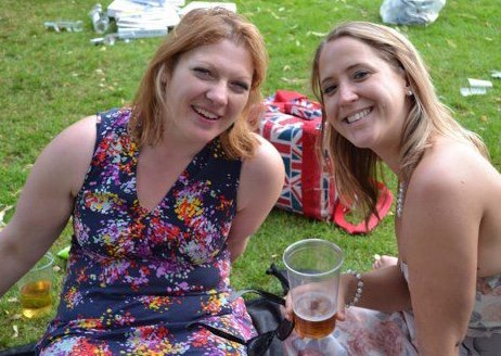 First time I met Lucy- day ya the races! Had a good old chat over a few pints of cider x