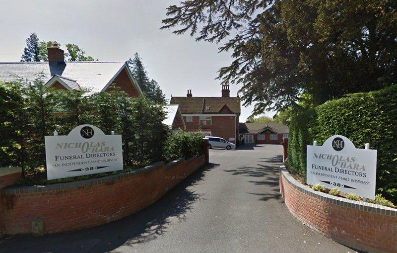 Nicholas O'Hara Funeral Directors Ltd, Wimborne, Dorset, funeral director in Dorset