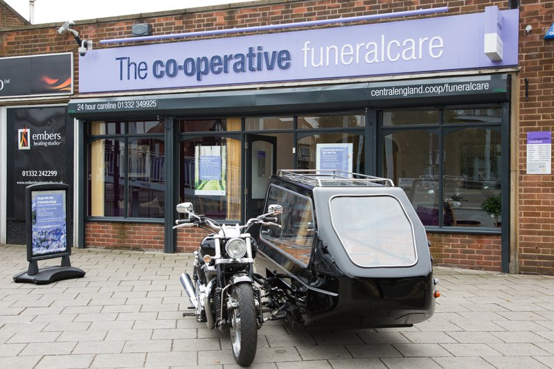 The Co-operative Funeralcare Allenton, Derbyshire, funeral director in Derbyshire