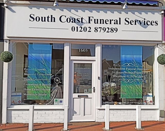 South Coast Funeral Services Limited, Dorset, funeral director in Dorset