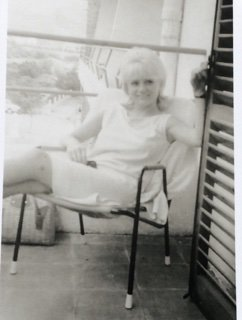 Shirley again on holiday with Patricia and Carole