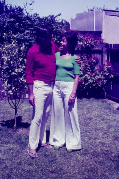 Jill and Ian a long time ago.